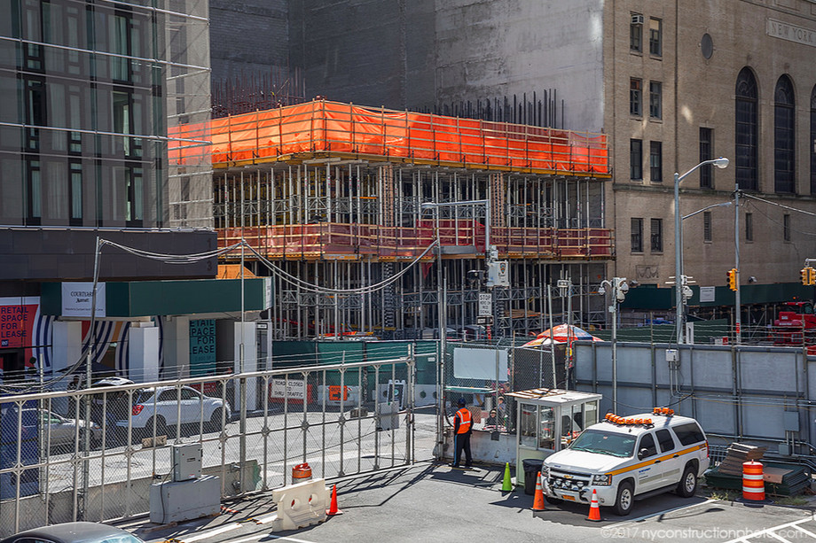 125 greenwich street construction progress NYC new york city